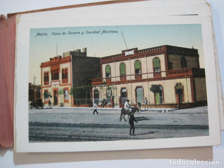 Postales: MELILLA-BLOC DE FOTOGRAFIAS-SERIE A-EDICION BOIX HERMANOS-VER FOTOS(K-559) - Foto 12 - 219431091