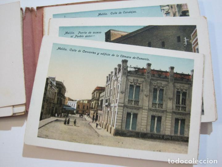 Postales: MELILLA-BLOC DE FOTOGRAFIAS-SERIE A-EDICION BOIX HERMANOS-VER FOTOS(K-559) - Foto 13 - 219431091