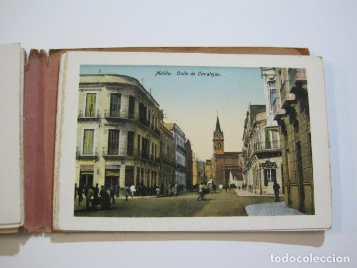 Postales: MELILLA-BLOC DE FOTOGRAFIAS-SERIE A-EDICION BOIX HERMANOS-VER FOTOS(K-559) - Foto 16 - 219431091