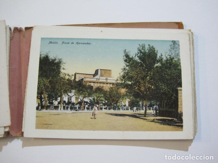 Postales: MELILLA-BLOC DE FOTOGRAFIAS-SERIE A-EDICION BOIX HERMANOS-VER FOTOS(K-559) - Foto 17 - 219431091