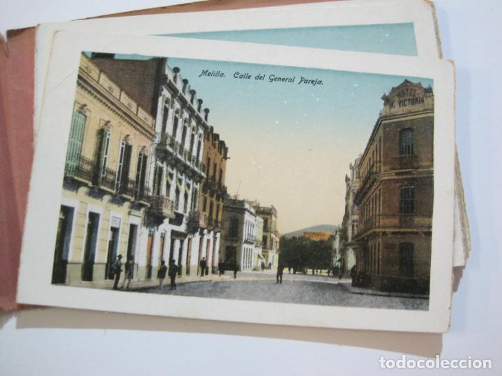 Postales: MELILLA-BLOC DE FOTOGRAFIAS-SERIE A-EDICION BOIX HERMANOS-VER FOTOS(K-559) - Foto 18 - 219431091