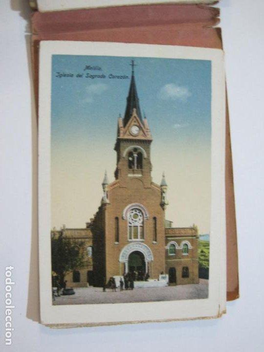 Postales: MELILLA-BLOC DE FOTOGRAFIAS-SERIE A-EDICION BOIX HERMANOS-VER FOTOS(K-559) - Foto 20 - 219431091