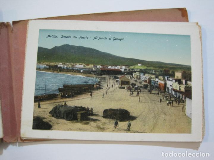 Postales: MELILLA-BLOC DE FOTOGRAFIAS-SERIE A-EDICION BOIX HERMANOS-VER FOTOS(K-559) - Foto 21 - 219431091