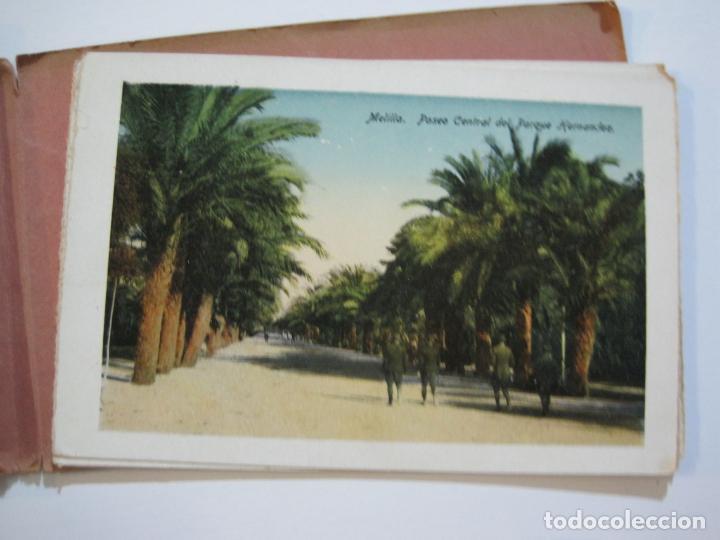 Postales: MELILLA-BLOC DE FOTOGRAFIAS-SERIE A-EDICION BOIX HERMANOS-VER FOTOS(K-559) - Foto 22 - 219431091