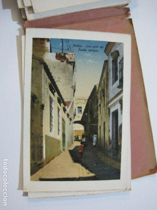 Postales: MELILLA-BLOC DE FOTOGRAFIAS-SERIE A-EDICION BOIX HERMANOS-VER FOTOS(K-559) - Foto 23 - 219431091