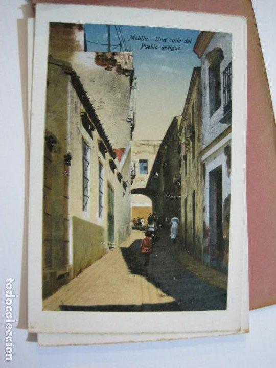 Postales: MELILLA-BLOC DE FOTOGRAFIAS-SERIE A-EDICION BOIX HERMANOS-VER FOTOS(K-559) - Foto 24 - 219431091
