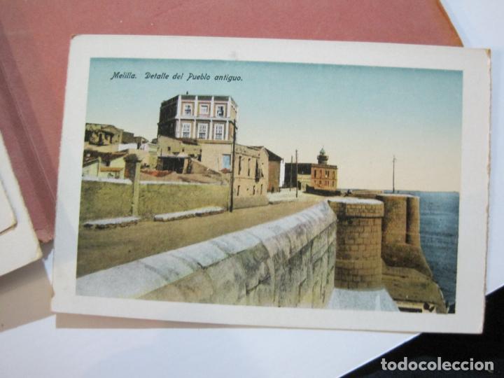 Postales: MELILLA-BLOC DE FOTOGRAFIAS-SERIE A-EDICION BOIX HERMANOS-VER FOTOS(K-559) - Foto 25 - 219431091