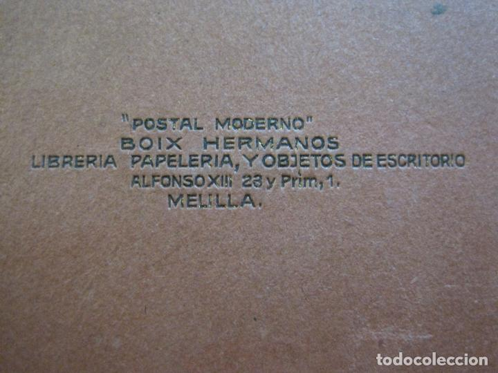 Postales: MELILLA-BLOC DE FOTOGRAFIAS-SERIE A-EDICION BOIX HERMANOS-VER FOTOS(K-559) - Foto 28 - 219431091