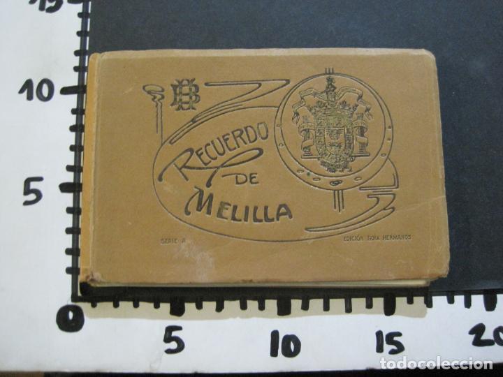 Postales: MELILLA-BLOC DE FOTOGRAFIAS-SERIE A-EDICION BOIX HERMANOS-VER FOTOS(K-559) - Foto 29 - 219431091