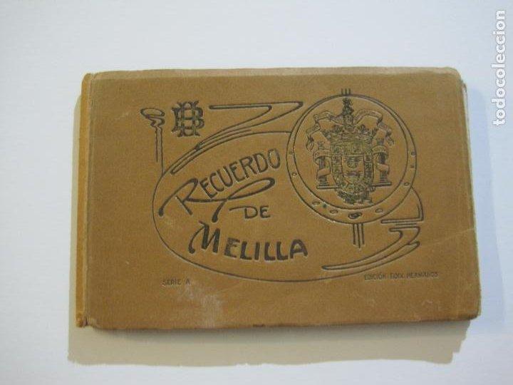 MELILLA-BLOC DE FOTOGRAFIAS-SERIE A-EDICION BOIX HERMANOS-VER FOTOS(K-559) (Postales - España - Melilla Antigua (hasta 1939))