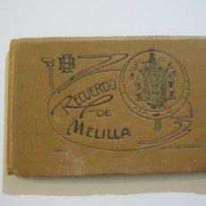 Postales: MELILLA-BLOC DE FOTOGRAFIAS-SERIE A-EDICION BOIX HERMANOS-VER FOTOS(K-559). Lote 219431091