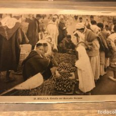 Cartes Postales: POSTAL DE MELILLA - DETALLE DEL MERCADO MORUNO - 14 CM X 9 CM - FOTOGRAFO L. ROISIN. Lote 219460690