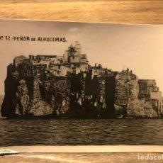 Cartes Postales: POSTAL DE MELILLA - PEÑON DE ALHUCEMAS - 14 CM X 9 CM. Lote 219460967