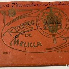 Postales: POSTALES DE MELILLA ALBUM RECUERDO DE MELILLA DE 24 POSTALES EDICION BOIX HERMANOS SERIE A. Lote 220349266
