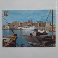 Postales: ANTIGUA POSTAL MELILLA PUERTO Y CIUDAD ANTIGUA P210. Lote 220395642