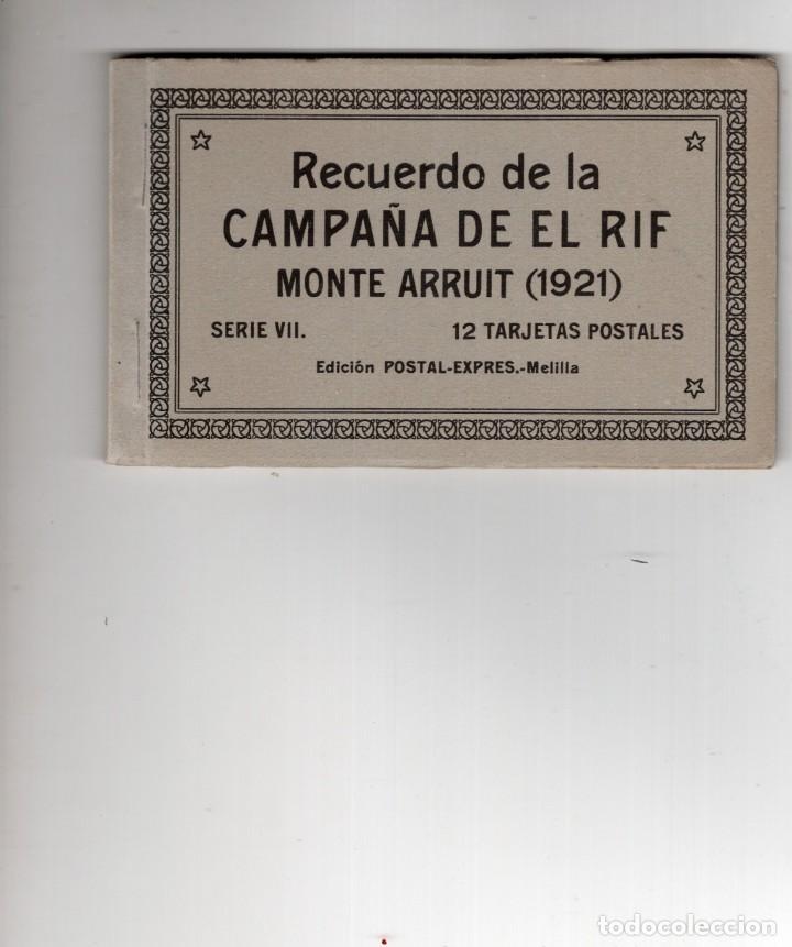 MELILLA. CAMPAÑA DEL RIF. MONTE ARRUIT 1921. SERIE VII (Postales - España - Melilla Antigua (hasta 1939))