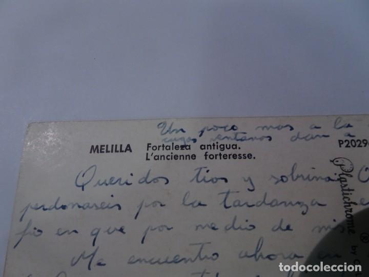 Postales: POSTAL FOTOGRÁFICA, MELILLA, FORTALEZA ANTIGUA, VER FOTOS - Foto 3 - 222103375