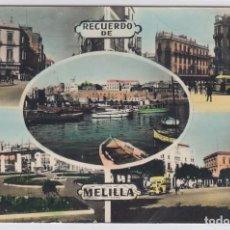 Postales: RECUERDO DE MELILLA. ED. RAFAEL BOIX . POSTÁL ESCRITA.. Lote 224913808