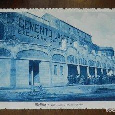 Cartoline: POSTAL DE MELILLA. LA NUEVA PESCADERIA, EDIFICIO CEMENTO LANDFORT. COLLECCION MARTINEZ Y SANZ TETUAN. Lote 228840895