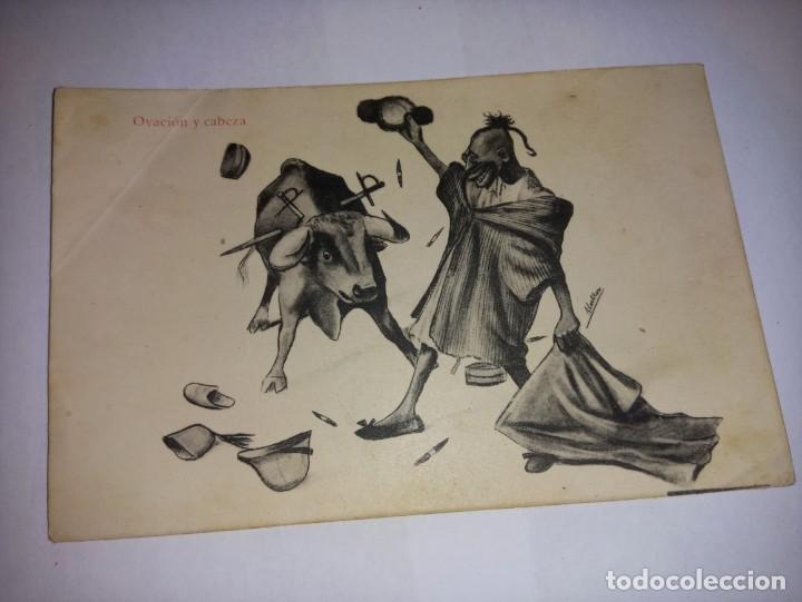 ANTIGUA POSTAL DE MELILLA TITULADA OVACION Y CABEZA DE ED JOSEFA BOTELLA (Postales - España - Melilla Antigua (hasta 1939))