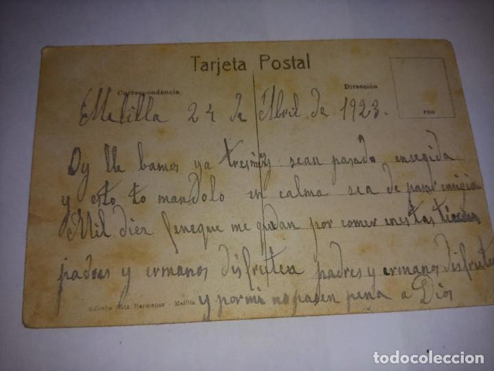 Postales: Antigua postal de Melilla Titulada Jefe de Cabila de ed Boix Hermanos - Foto 2 - 229067315