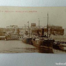 Cartes Postales: POSTAL FOTOGRAFICA, MELILLA, MUELLE VILLANUEVA Nº6.. Lote 233115870