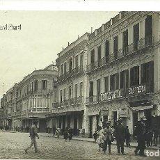 Postales: (PS-64297)POSTAL FOTOGRAFICA DE MELILLA-CALLE GENERAL CHACEL.M.VILA. Lote 234830690