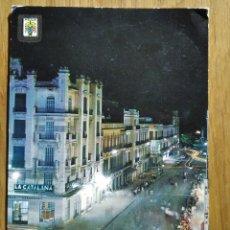 Postales: MELILLA - AVENIDA DEL GENERALISIMO. Lote 235541350