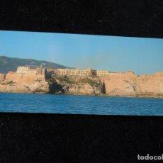 Cartes Postales: MELILLA LA VIEJA DESDE EL MAR 21 X 10 CM. Lote 236892080