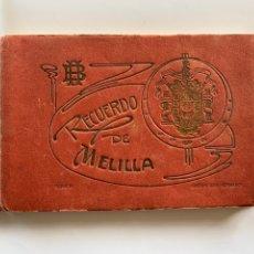 Postales: BLOC POSTAL. RECUERDO DE MELILLA. SERIE B. EDICION BOIX HERMANOS. POSTAL MODERNO. MELILLA.. Lote 238192365