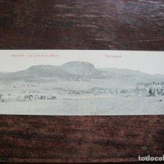 Postales: MELILLA-SAN JUAN DE LAS MINAS-VISTA GENERAL-POSTAL DOBLE ANTIGUA-FOTPIA CASTAÑEIRA...-(77.304). Lote 238661900
