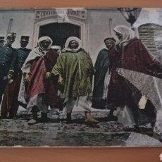 Postales: POSTAL DE MELILLA , PUERTA DE LA COMANDANCIA GENERAL AÑO 1900.... Lote 240671345