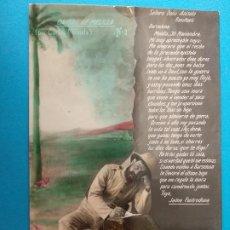 Cartes Postales: POSTAL,CARTAS DE MELILLA POR CARLOS MIRANDA. Nº3. Lote 241742710