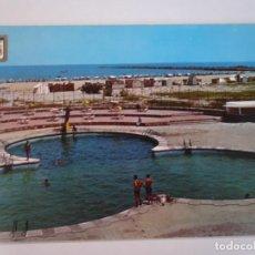 Postales: ANTIGUA POSTAL CPSM, MELILLA, BALNEARIO DE LA HÍPICA, PISCINA, VER FOTOS. Lote 242847585