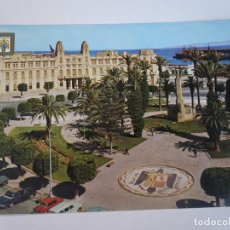 Postales: ANTIGUA POSTAL CPSM, MELILLA, PLAZA ESPAÑA Y AYUNTAMIENTO, VER FOTOS. Lote 242848260