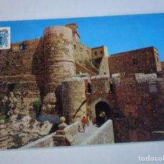 Postales: ANTIGUA POSTAL CPSM, MELILLA, CIUDAD VIEJA Y PUERTA DE SANTIAGO, VER FOTOS. Lote 242849230