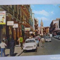 Postales: ANTIGUA POSTAL CPSM, MELILLA, CALLE EJÉRCITO ESPAÑOL, VER FOTOS. Lote 242849510
