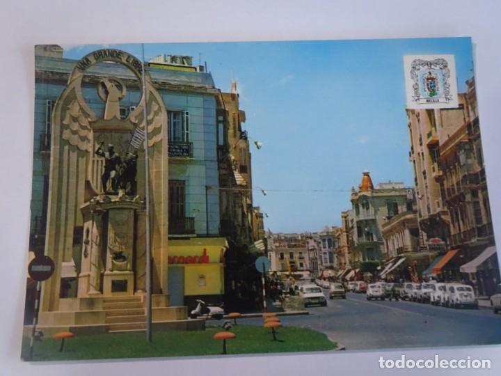 ANTIGUA POSTAL CPSM, MELILLA, MONUMENTO A LOS HÉROES DE ESPAÑA, VER FOTOS (Postales - España - Melilla Moderna (desde 1940))