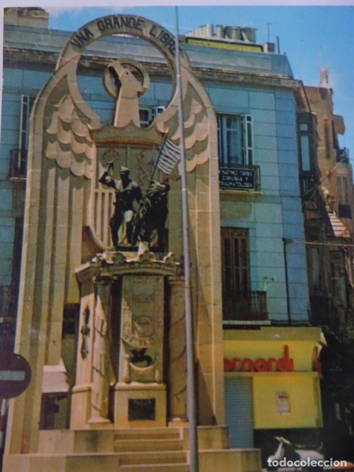 Postales: ANTIGUA POSTAL CPSM, MELILLA, MONUMENTO A LOS HÉROES DE ESPAÑA, VER FOTOS - Foto 2 - 242850125