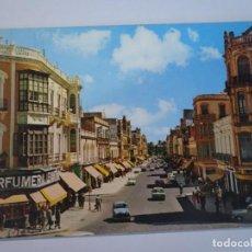 Postales: ANTIGUA POSTAL CPSM, MELILLA, AVENIDA GENERALÍSIMO, VER FOTOS. Lote 242853435