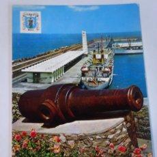 Cartes Postales: ANTIGUA POSTAL CPSM, MELILLA, PUERTO, VER FOTOS. Lote 242853550