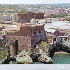 Postales: POSTAL MELILLA, VISTA PARCIAL CON EDIFICIO ANFORA Y HOTEL, AÑOS 80. Lote 244466695