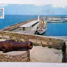 Postales: POSTAL MELILLA, PUERTO DETALLE. Lote 244547115