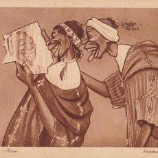 Cartoline: POSTAL ILUSTRADA POR D. MULLOR, MELILLA Nº5. COQUETERIA MORA. EDICION AÑO 1921. SIN CIRCULAR. Lote 246540515