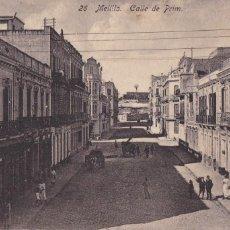 Cartoline: MELILLA, CALLE DE PRIM. ED. BOIX HERMANOS Nº 26. SIN CIRCULAR. Lote 246991060