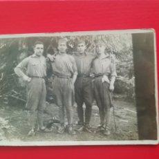 Cartoline: POSTAL ORIGINAL ANTIGUA SOLDADOS ESPAÑOLES, MONTE CÓNICO? EN KETAMA, ZONA MELILLA. AÑO 1927. Lote 247138370