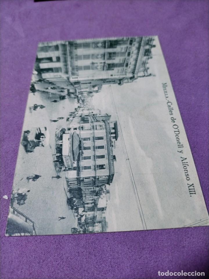 Postales: 3 POSTALES DE MELILLA CALLE DE ALFONSO XIII CALLES DE O DONELL Y ALFONSO XIII GENERAL MARINA - Foto 3 - 248724035