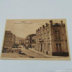 Postales: MELILLA. CALLE CERVANTES Y CAMARA COMERCIO. ESPAÑA NUEVA. MARGALLO 5. 7283. Lote 249088915