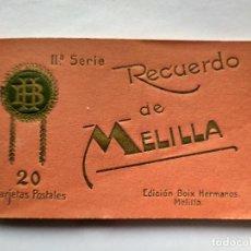Postales: BLOCK ACORDEON - RECUERDO DE MELILLA - IIª SERIE -- ( BLOCK 2021 ). Lote 251343040
