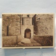 Postales: MELILLA, PUEBLO ANTIGUO, ENTRADA DEL TÚNEL, ESPAÑA NUEVA, MARGALLO 5. Lote 251368110